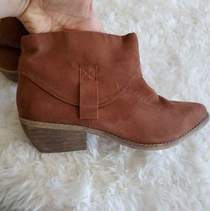 3 for $8 READ..🍅Taupe Ankle Booties